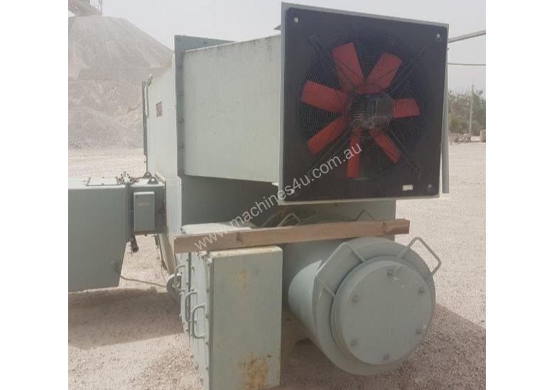 2100 KW 2800 HP 4 pole 1490 rpm 11000 volt Foot Mount 560 Frame POPE Slip Ring Electric Motor