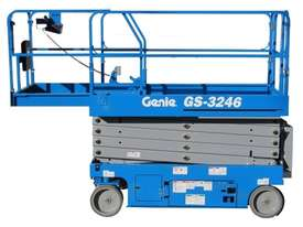 32ft Electric Scissor lift Genie New - picture2' - Click to enlarge
