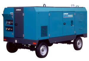 AIRMAN 900cfm Portable Diesel Compressor on Wagon Wheels