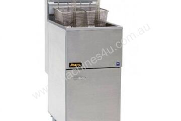 Anets 40AS Silverline Gas Tube Fryer
