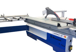 European Made NikMann S350 panel saw with NikMann SAM-6 Dust Extractor