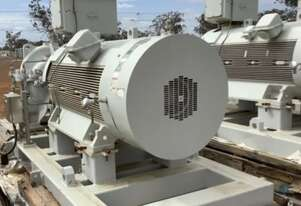 470 kw 630 hp 4 pole 1485 rpm 6600 volt 6.6kv Foot Mount 450 frame AC Electric Motor Toshiba TMEiC