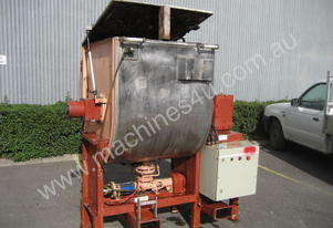 Allweiler Paddle Mixer - Jacketed