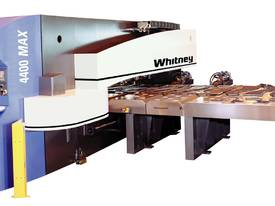 Haco/Whitney 4400MAX CNC Punch/Plasma Combination - picture0' - Click to enlarge