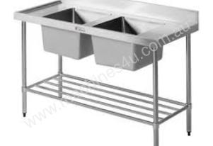 1500mm w x600mm d x 900mm h (45kg) Simply Stainle