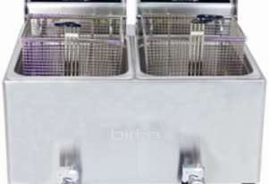 Birko 1001004 Counter-Top Fryer Two Basket