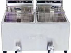 Birko 1001004 Counter-Top Fryer Two Basket  - picture0' - Click to enlarge