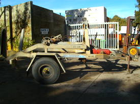 3.5 ton cable drum trailer , 2200kg carry - picture0' - Click to enlarge