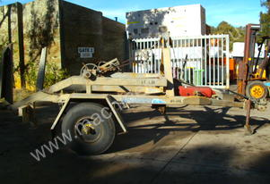 3.5 ton cable drum trailer , 2200kg carry