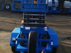 Genie GS2032 Electric Scissor Lift and Trailer - picture3' - Click to enlarge