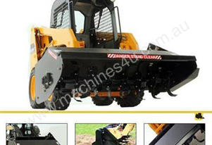 Rotary Tiller for Skid Steer Loaders