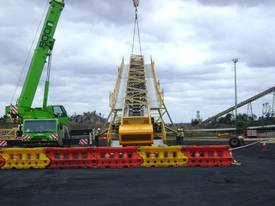 40M X 1200MM SELF PROPELLED RADIAL STACKER