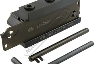 L464 Professional Lathe Parting Tool Kit - Insert Type 12mm Tool Height