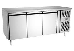 Exquisite USC400H Three Door Underbench Fridge