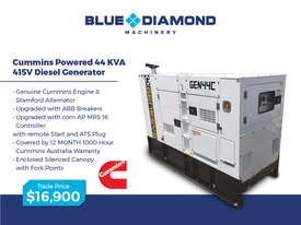 Generator 44-500kVA Diesel  - Cummins - Prime Power - picture1' - Click to enlarge