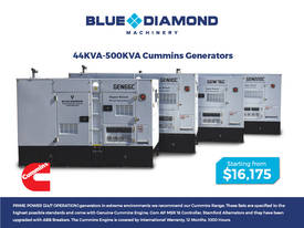 Generator 44-500kVA Diesel  - Cummins - Prime Power - picture0' - Click to enlarge