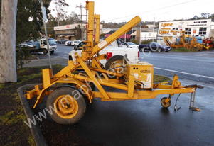 1.5ton self loader / drum drive , petrol