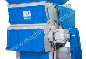 Shredders for Plastics, Rubber, Wood  [Zerma]