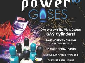 Buy Your Own Welding and Oxygen Gas Bottles - picture0' - Click to enlarge