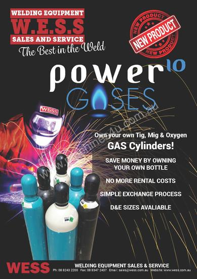 Buy Your Own Welding and Oxygen Gas Bottles