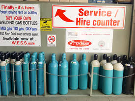 Buy Your Own Welding and Oxygen Gas Bottles - picture1' - Click to enlarge