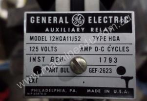 GENERAL ELECTRIC 125V DC RELAY (BOX OF 10) #G
