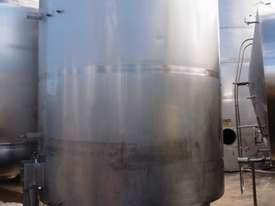 Stainless Steel Jacketed Tank - Capacity 10,000Lt. - picture1' - Click to enlarge