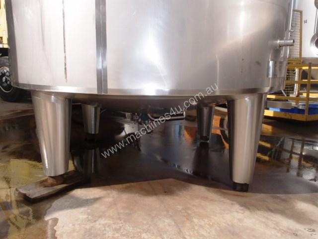 Stainless Steel Jacketed Tank - Capacity 10,000Lt.