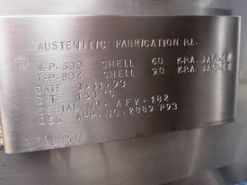 Stainless Steel Jacketed Tank - Capacity 10,000Lt. - picture3' - Click to enlarge