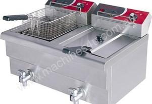 Double Benchtop Electric Fryer