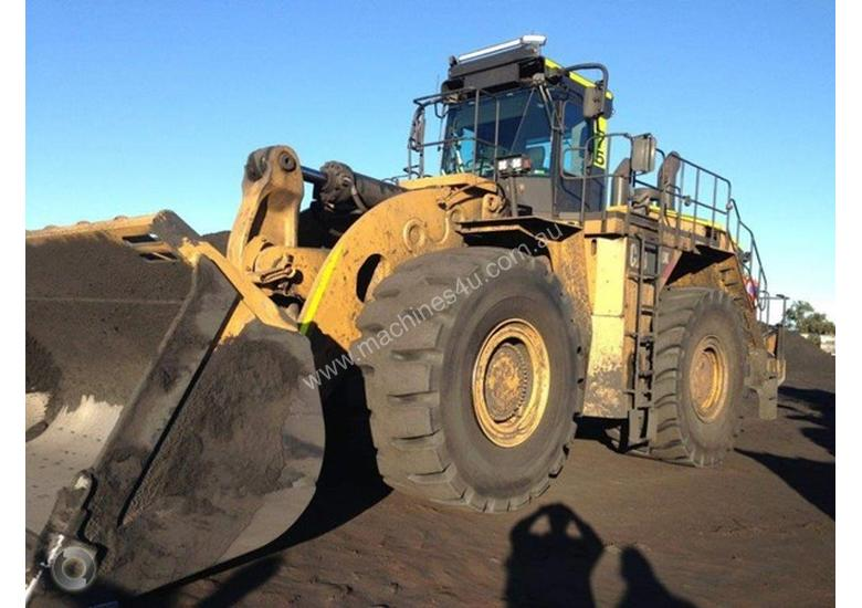 Used 2015 Caterpillar 990k Wheeled Loader In Qld