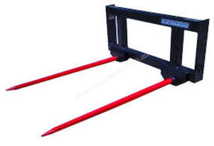 Tractor Hay Spear (euro mount)