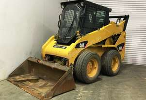 CATERPILLAR 232B AIR-CONDITIONED SKID STEER LOADER