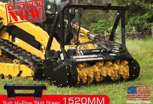 1520mm 5 Ft Mulcher suit Hi-flow skid steer loader