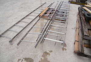stainless steel ladders