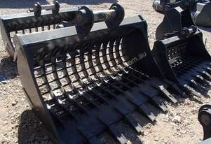ROO ATTACHMENTS SIEVE Bucket-Rock Attachments