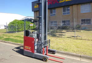 NICHIYU ELECTRIC REACH TRUCK  - 9.0 Metre Lift, New Paint, Serviced, Forklift and Battery Warranty