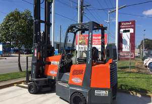 Good condition used narrow aisle forklift