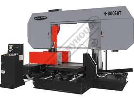 H-800SAT Semi Automatic Double Column Heavy Duty Metal Cutting Band Saw 800 x 800mm (W x H) Square C - picture0' - Click to enlarge