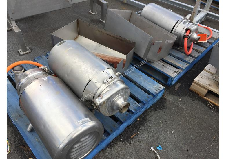 Various APV Puma Pumps suitable for Dairy, Brewery, Pharmaceutical and Food Industries