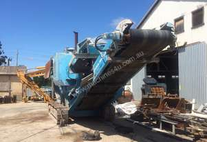 Terex Pegson   jaw crusher