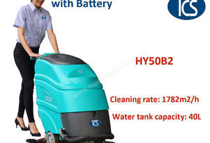 NEW Commercial Auto Scrubber Cleaner Floor Scrubber / Drier / Battery