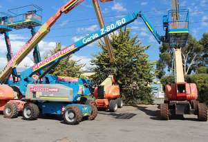2009 Genie Z-80/60 Articulating Boom Lift