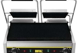 Apuro Bistro Contact Grill - Double (Ribbed/Ribbed) - AUS PLUG