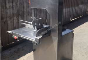 Barnes Stainless Steel Meat Bandsaw in great condition