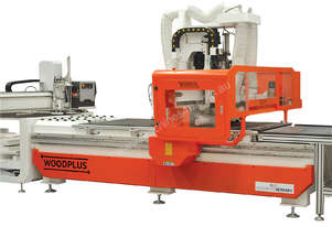 WOODPLUS WP 1225 CNC Nesting Machine with on load table