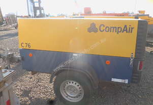 2009 Compair C76 268cfm Air Compressor