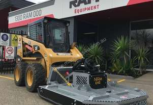 Norm Engineering Grass Master 5ft Slasher Attachment to suit Skid Steer