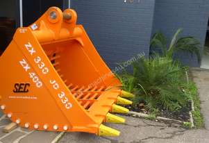 Used Large Sieve Bucket, suit 30+ tonne excavator