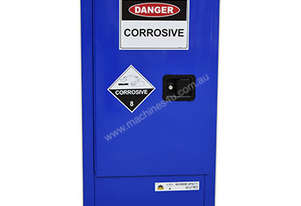 60 Litre Indoor Chemical/Corrosive Substances Cabinet. Australian made to meet Australian Standards